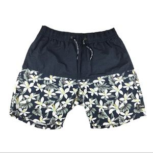 Barney Cools Floral Swim Shorts, 32